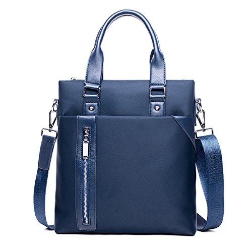 Geschäft Beutel-Handtaschen-Computer-Beutel A4 Aktenkoffer-beiläufiger Beutel-männlicher Beutel-Schulter-Beutel-Kurier-Beutel-männlicher Beutel Blue