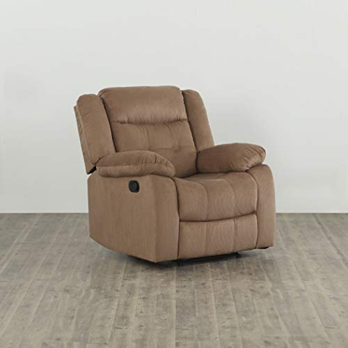 Home Centre Zurich One Seater Recliner - Brown