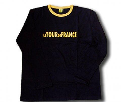 T shirt black long sleeves Tour de France