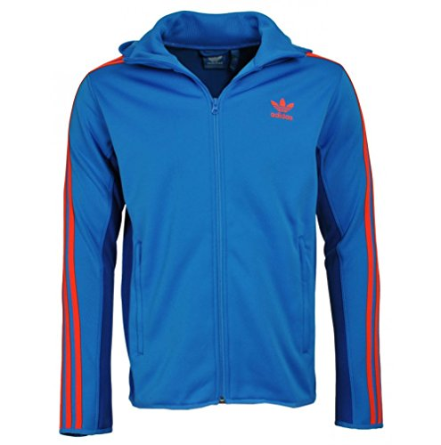 ADIDAS ORIGINALS MEN'S ST DIVER TRACK TOP HOODIE SIZES S XL 2XL BLUE RED