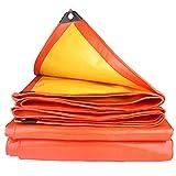FQJYNLY Telo di Protezione Antipioggia Teloni Copertura Occhielli Rinforzati A Prova di Polvere Impermeabile Tenda da Campeggio del Foglio di Copertura del Suolo, 19 Taglie