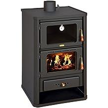 Estufa de leña con horno de Prity FG; chimenea, combustible Sólido, ...