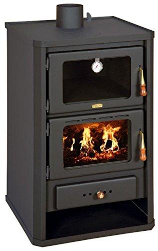 Estufa de leña con horno de Prity FG; chimenea, combustible Sólido, 14 kW