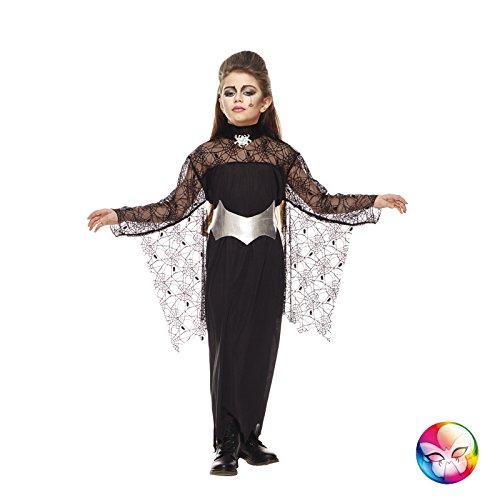 (Unbekannt AEC–aq00310/L–Kostüm Hexe der Spinnen Größe L 9/11Jahre (150cm))
