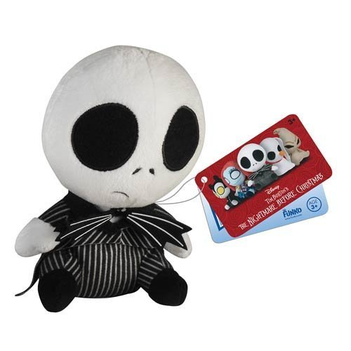 Nightmare Before Christmas Jack Skellington Mopeez Plush by Nightmare Before Christmas