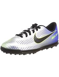 Nike Unisex Kids' Jr MercurialX Vrtx III Njr TF Footbal Shoes