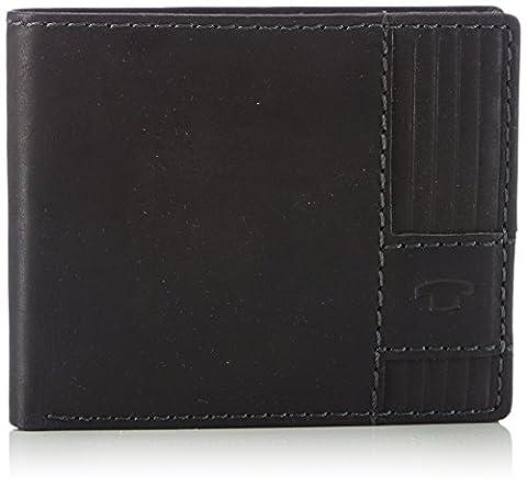Tom Tailor Acc LUCA 17303 Herren Geldbörsen 11x8x2 cm (B x H x T), Schwarz (schwarz 60)