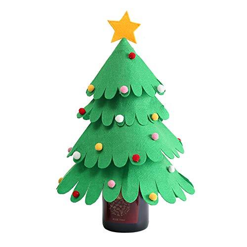 Lulalula - Funda para botella de vino de Navidad