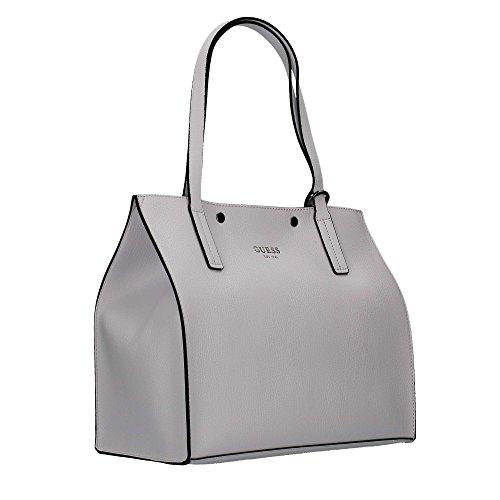 Indovina Damen Hwvn6778230 Shopper, 17.5x31x35 Cm Weiß (bianco)