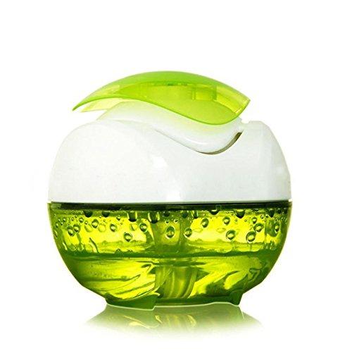 YL Humidificador sin Niebla Aromaterapia Usb Mini Mute Coche Purificador de Aire,Verde,Un tamaño