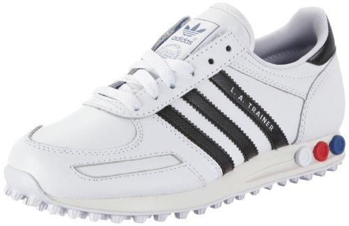 adidas Originals LA TRAINER M V22815, Sneaker unisex adulto Bianco (Weiss (WHT/BLACK1/L))