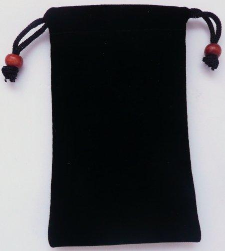 Emartbuy ® Black Velvet Case / Cover / Pouch / Socken Für Huawei G6151