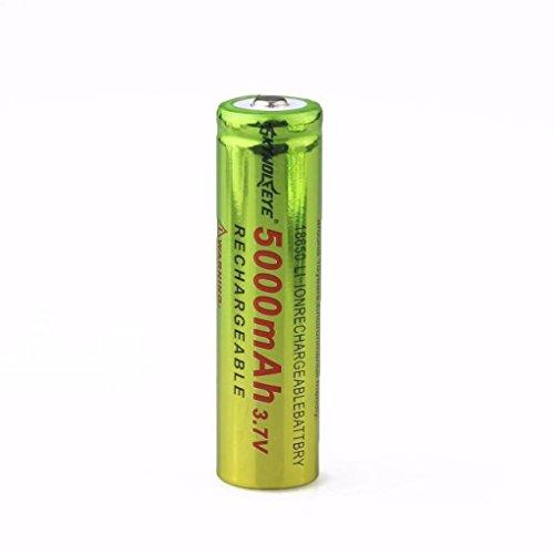 Ularma 1x3.7V 18650 5000mAh Li-ion Rechargeable Batterie Pour Lampe de poche lampe Torche
