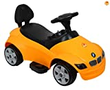 Baybee Officially Licensed BMW Mini Battery Operated Ride-on Car (Yellow)