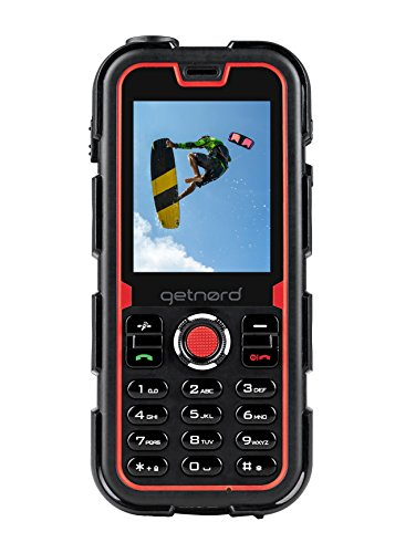 Getnord - Walrus teléfono Todoterreno, Dual sim, con chasis rugerizado y Sumergible Modelo