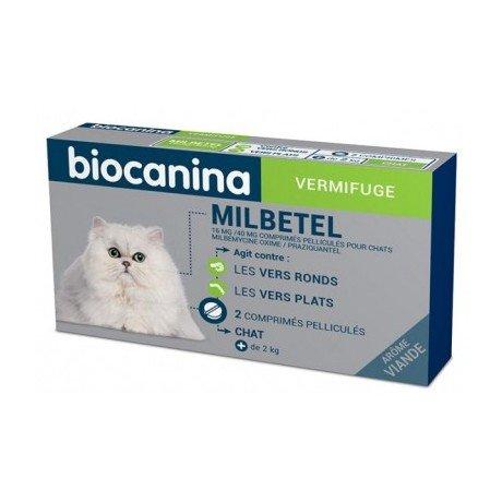 vermifuge chat biocanina