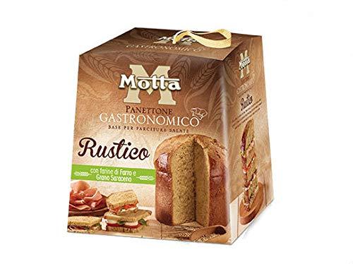 Panettone gastronomico rustico 500 grammi con farine di farro e grano saraceno - base per farciture salate
