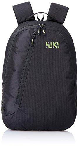 Wildcraft Wiki Daypack 31 liters Black Casual Backpack (8903338041504)