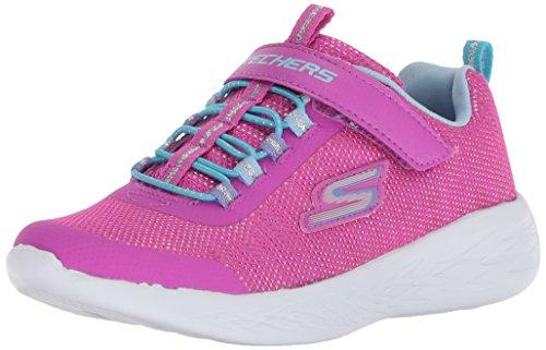 Skechers Girls Go Run 600 Sparkle Lightweight Trainers (Kinder Sparkle Boots)