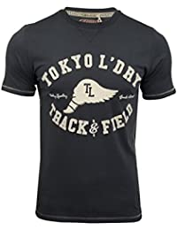 Tokyo Laundry Mens Crack Paint T-Shirt Springfield'