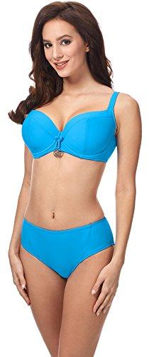 Merry Style Damen Bikini Set CD 18 Blau