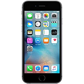 "Apple iPhone 6s Single SIM 4G 16GB Grey smartphone - smartphones (11.9 cm (4.7""), 1334 x 750 pixels, 1400:1, Multi-touch, 500 cd/m², Capacitive)"