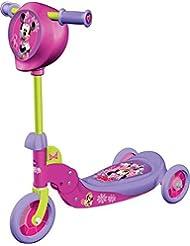 Mondo - 18113 - Vélo et Véhicule pour Enfant - Patinette 3 Roues Pliable - Minnie