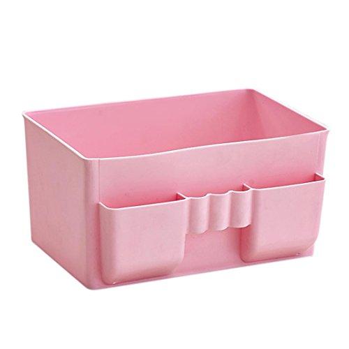 Ufficio di plastica Desktop Storage trucco dell'organizzatore di immagazzinaggio,Fami
