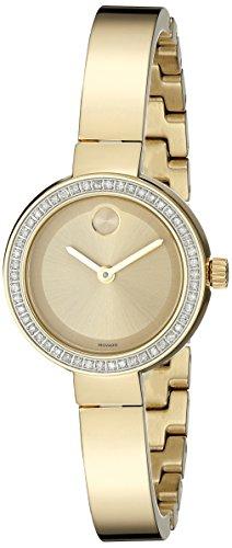 MOVADO WOMEN'S 25MM GOLD-TONE STEEL BRACELET & CASE QUARTZ WATCH 3600322