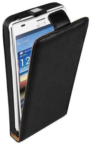 mumbi PREMIUM Leder Flip Case für LG P880 Optimus 4X HD Tasche Hülle