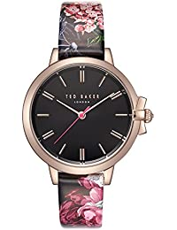 a13d7b1057b6 Ted Baker Womens Analogue Quartz Watch with Leather Strap TE50267003