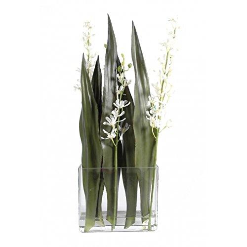 bouquet artificiel orchidee vanda - h : 85
