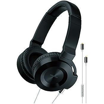 onkyo headphones. Onkyo ES-CTI300(BS) On Ear Headphone With Smartphone Controls Headphones O