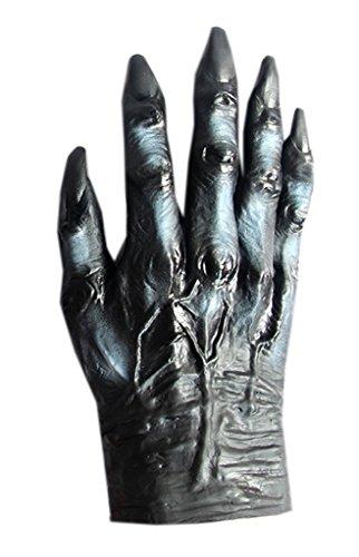 EOZY Halloween Handschuhe Kostüm Deko Grusel Horror Party Karvenal (Wolf (Handschuhe Erwachsenen Wolf Super)
