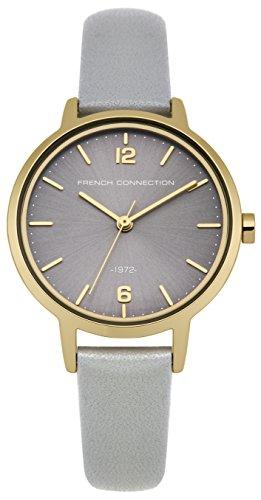 french-connection-mujer-reloj-de-cuarzo-con-esfera-analogica-gris-y-gris-correa-de-piel-fc1280eg