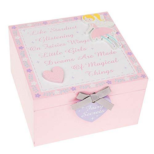 Shudehill Geschenkartikel - Glitter Fairy Holz Keepsake Box -
