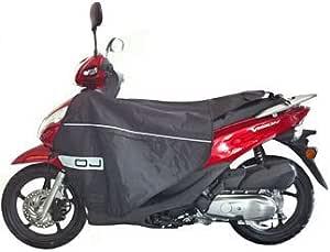 Oj Pro Leg Nylon Waterproof Scooter Leg Cover Type A To Fit Aprilia Daelim Derbi Garelli Gilera Honda Kymco Malaguti Mbk Peugeot Suzuki Sym Yamaha Auto