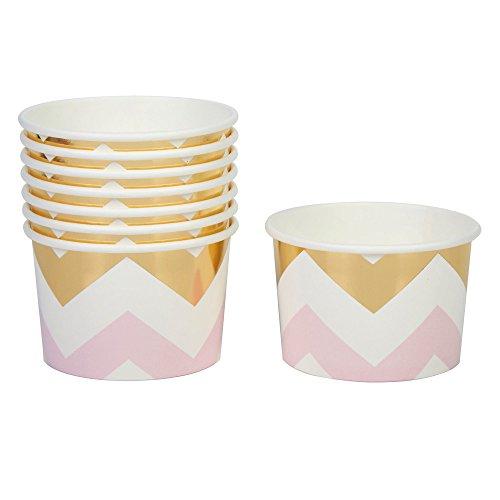 Neviti Pattern Works Eisbecher, Zickzack, Pink