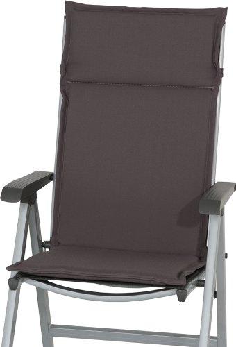 Sun Garden 10133254 Esdo Auflage Sessel hoch Soft-Filamentpolyester Dessin 50234-700 121 x 47 x 4 cm