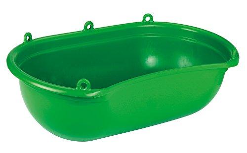 Artikelbild: Kerbl 2985 Streuwanne mit Mulde grüner Kunststoff, 20 Liter