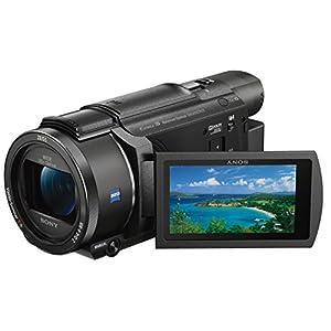 Sony-FDR-AX53-4K-Ultra-HD-Camcorder-20-Fach-optischer-Zoom-5-Achsen-Boss-Bildstabilisation-NFC-schwarz