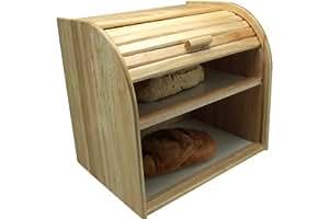 apollo huche pain 2 niveaux bois d 39 h v a cuisine maison. Black Bedroom Furniture Sets. Home Design Ideas
