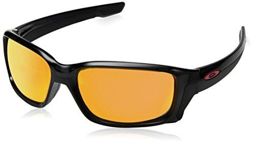 Oakley Herren STRAIGHTLINK 933115 58 Sonnenbrille, Schwarz (Black Ink/Prizmruby)
