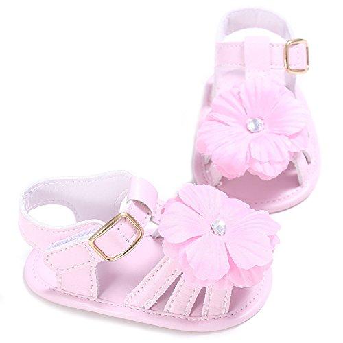 Sandals Bébés Filles En Salle Chaussures Premiers Pas Rose