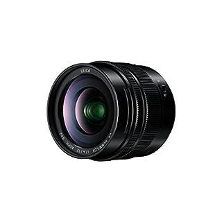 Panasonic H-X012E LEICA DG SUMMILUX Weitwinkel 12 mm F1.4 ASPH. Objektiv (Festbrennweite 24mm KB, Staub-/Spritzwasserschutz) schwarz