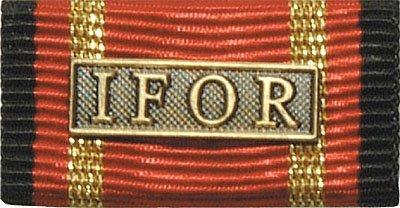 Weitere... Bandschnalle Auslandseinsatz IFOR