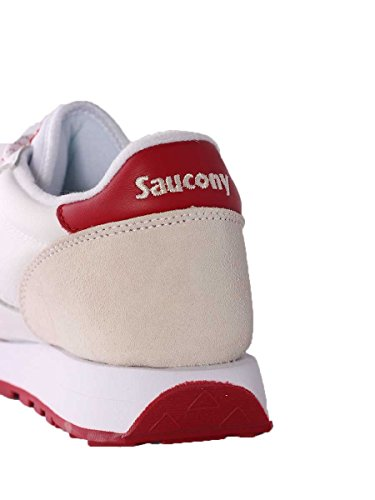 Saucony jazz original s70325-3 wht/cha White/Red