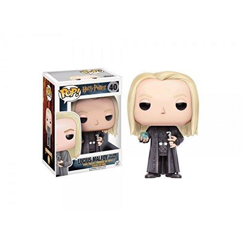 Funko - Figurine Harry Potter - Lucius Malfoy Prophecy Exclu Pop 10cm - 0889698128841