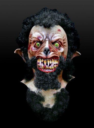 Maske Werwolf Wolf Wolfsmensch Werwolfmaske Horror Halloween Karneval