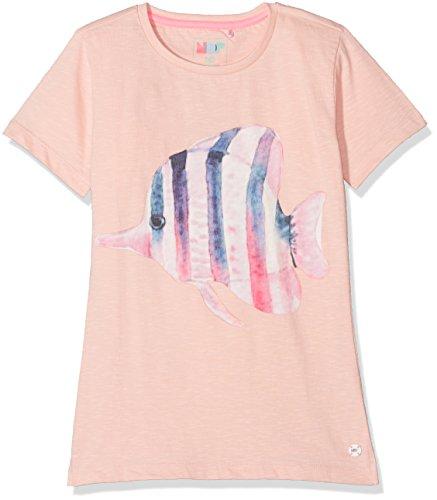 NOP Mädchen T-Shirt G Tee Ss Merrick, Rosa (Pink C090), 134 (Tee Feine Fit Mädchen)